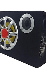 6 tommer ultra-tynde 12v aktive køretøj bilstereo subwoofer højttalere firkantet magt