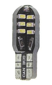 10 x t10 149 W5W 3W CANbus 24x3014smd geleid 300lm leidde auto lamp (6000 - 6500k dc 12 - 16v)