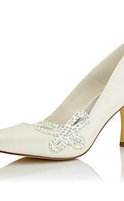 Homme-Mariage / Habillé / Soirée & Evénement-Beige-Talon Aiguille-Confort-Chaussures à Talons-Soie