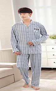 Pajama Herr Bomull