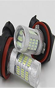 super lyse LED lampe på 60 4014 tåge lamper anti tågelygter modificeret detonation tågeforlygter