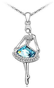 Colliers Tendance Pendentif de collier Bijoux Soirée A la Mode Platiné Argent 1pc Cadeau