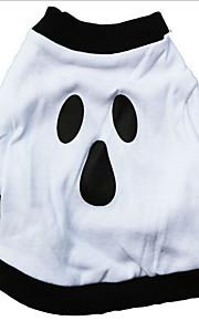 Собаки Футболка / Джинсовые куртки Белый Одежда для собак Зима Вампиры Хэллоуин /