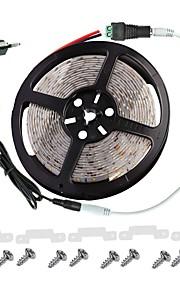 LED lys stripe kit -3528 -300 leds IP65 inkluderer 3a strømforsyning (36 watt) og dimmer - ledet tape light-kontakt