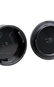 dengpin achterste lensdop + camera body cap voor leica r3 r4 r5 r6 r7 r8 r9