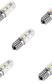 1W E14 Ampoules Maïs LED T 7 SMD 5050 80LM lm Blanc Chaud / Blanc Froid V 5 pièces
