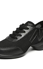 Для женщин-Дерматин-Не персонализируемая(Черный / Белый) -Джаз / Танцевальные кроссовки / Модерн