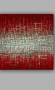 Håndmalte Abstrakt / Landskap olje~~POS=TRUNC malerier~~POS=HEADCOMP,Moderne / Klassisk Et Panel Lerret Hang malte oljemaleri For Hjem
