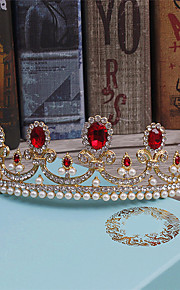 Women's Rhinestone / Alloy Headpiece-Wedding / Special Occasion / Casual Tiaras 1 Piece