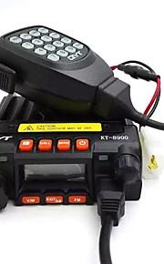 QYT Montabile in auto / Analogico FAN-KT8900FM Radio / Allarme di emergenza / Programmabile con software di PC / Funzione di risparmio