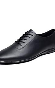Для мужчин-Кожа-Персонализируемая(Черный) -Джаз / Танцевальные кроссовки
