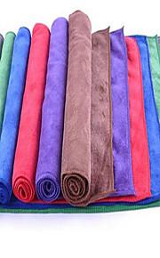 fortykket slebet mikrofiber håndklæde absorberende håndklæde vask hår rengøring klud forsyninger off