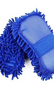 autoyouth 1stk svamp microfiber vaskemaskine håndklæde duster til rengøring&detaljering bil styling wahing børster til ford focus