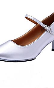 Для женщин-Лак-Не персонализируемая(Черный / Красный / Серебро / Золотистый) -Латина / Джаз / Степ / Модерн / Обувь для свинга