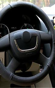 auto leer om het deksel stuurwiel instellen