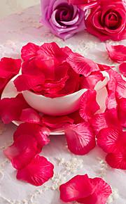 Set of 1 PCS 2 분기 폴리에스터 장미 테이블  플라워 인공 꽃 1.5