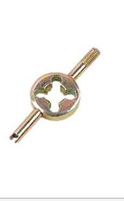 vehículo eléctrico válvula de tablero de llaves mano bicicleta, llave de llave inglesa núcleo de la válvula, llave de tubo americano