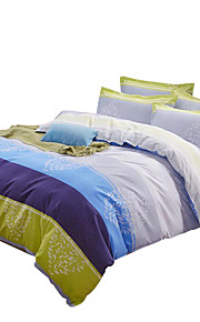 Mingjie Wonderful Blue Lines Bedding Sets 4PCS for Twin Full Queen King Size from China Contian 1 Duvet Cover 1 Flatsheet 2 Pillowcases