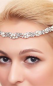 Бижутерия Ожерелья / Серьги / Браслеты / Украшения для волос Свадебные комплекты ювелирных изделий Искусственный жемчугПодарочные коробки