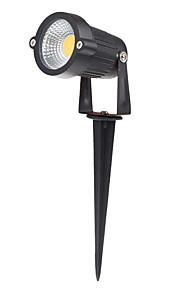3W IP65 300lm דשא קלח מנורות חמה / צבע לבן מגניב נקודת מבול עמידה למים הובילה נורה עבור נתיב ברכה בגינה