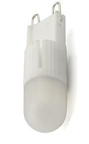 2W G9 LED à Double Broches T 1 COB 245 lm Blanc Chaud / Blanc Froid Gradable V 1 pièce