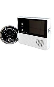 100 100 CCD campanello sistema Senza fili Bianco e nero