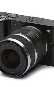 Xiaomi yi m1 mirrorless digitalkamera med 12-40mm F3.5-5.6 objektiv / 20mp / 4k / 30 fps (kinesisk udgave)