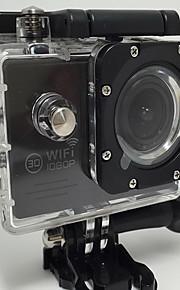 Actiecamera / Sportcamera 12MP / 8MP / 5MP 640 x 480 / 1024 x 768 WIFI / Draadloos / Multifunctioneel 1.5 / 2 128 GBEnkele opname /