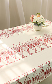 Square Animal Table Cloth , Cotton Blend Material Hotel Dining Table / Table Decoration