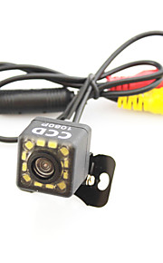 assistenza di parcheggio vista auto sistema di telecamera posteriore auto di 12 LED del CCD HD retrovisore invertire la visione notturna