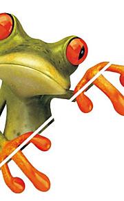 tegneserie Frøen 3d klistermærker dekorative decals