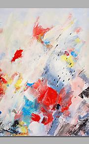 手描きの 抽象画 / 花柄/植物の 油彩画,Modern / 田園 1枚 キャンバス ハング塗装油絵 For ホームデコレーション