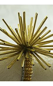 Rectangular Estampado / Geométrica / Día Festivo Anillo de Servilletas , Legierung MaterialDecoración del banquete de boda / Cena