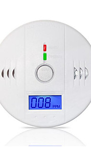 85dB waarschuwing hoge gevoelige foto-elektrische lcd onafhankelijke co gas sensor koolmonoxidevergiftiging alarmdetector
