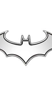 3d kølig metal auto logo bil styling bil stickersbadge emblem hale decal motorcykel bil tilbehør