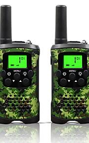 armygreen og camo for børn walkie talkies 22 kanaler og (op til 10 km i åbne områder) armygreen og camo walkie talkies til børn (1 par)