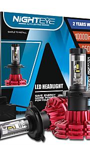 nighteye h4 60w / set 10000lm hi / auto anabbagliante ha portato i fari / lo ha condotto l'illuminazione auto auto kit lampadine