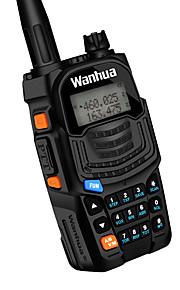 Wanhua uv6s walkie talkie vhf 136-174mhz uhf 400-520mhz 128ch 8W tovejs radio