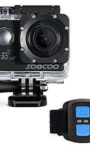 SOOCOO Actiecamera / Sportcamera WIFI 4K 60fps 120 fps 30fps 24fps 240fps 2 128 GB 30 MUniverseel Automatisch Duiken motocycle Fietsen