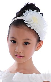 Girl's Lace Headpiece-Wedding Special Occasion Outdoor Headbands Flowers 1 Piece