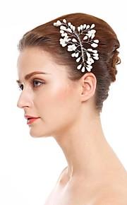 Damen Künstliche Perle Kopfschmuck-Hochzeit Besondere Anlässe Haarkämme 1 Stück