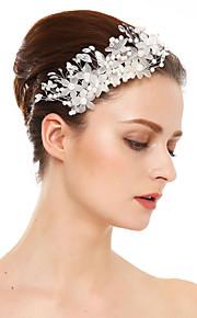 Damen Kristall Künstliche Perle Harz Kopfschmuck-Hochzeit Besondere Anlässe Haarkämme 1 Stück