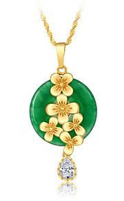 Colliers Tendance Jade Pendentif de collier BijouxMariage Soirée Occasion spéciale Anniversaire Fiançailles Quotidien Décontracté Regalos