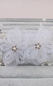 Damen Künstliche Perle Korbwaren Kopfschmuck-Hochzeit Haarkämme 1 Stück