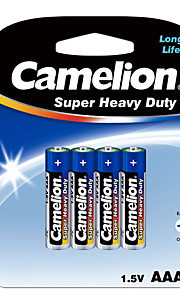 Camelion Camelion zinc aaa carbono batería 1.5v 4 paquete