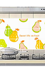 Fruit Of Kitchen Ceramic Tile Wall Prevent Oil Stickers