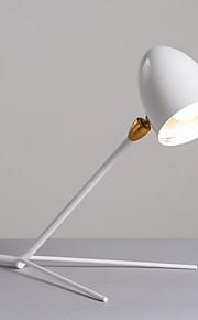 60 Moderno/ Contemporâneo Luminária de Escrivaninha , Característica para LED Braço Móvel , com Pintado Usar Interruptor On/Off