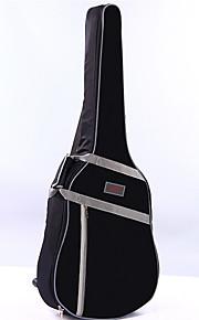 ammattilainen Laukut ja kotelot Korkeatasoisia Guitar Akustinen kitara Sähkökitara New Instrument Nylon Musical Instrument VarusteetMusta