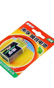 Nanfu 9V alkaline batterij / afstandsbediening speelgoed / rookmelder / draadloze microfoon / multimeter / remote control / microfoon