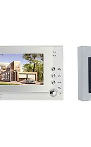actop smart home 1v1 RFID samtaleanlæg 00:59 video dørklokken 7 tommer skærm 6 ir lamper kabel synlig samtaleanlæg